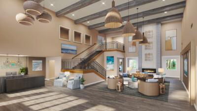 Daytona Interior Lobby